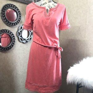 Tommy Hilfiger Cotton Pink Dress